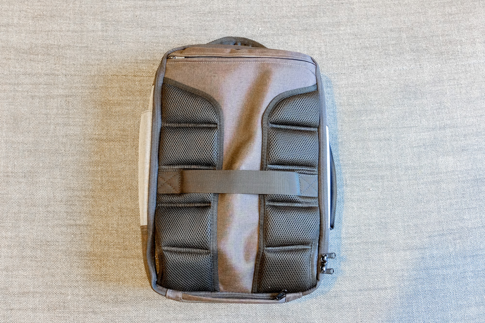 Standard Luggage Daily Backpack with hidden straps