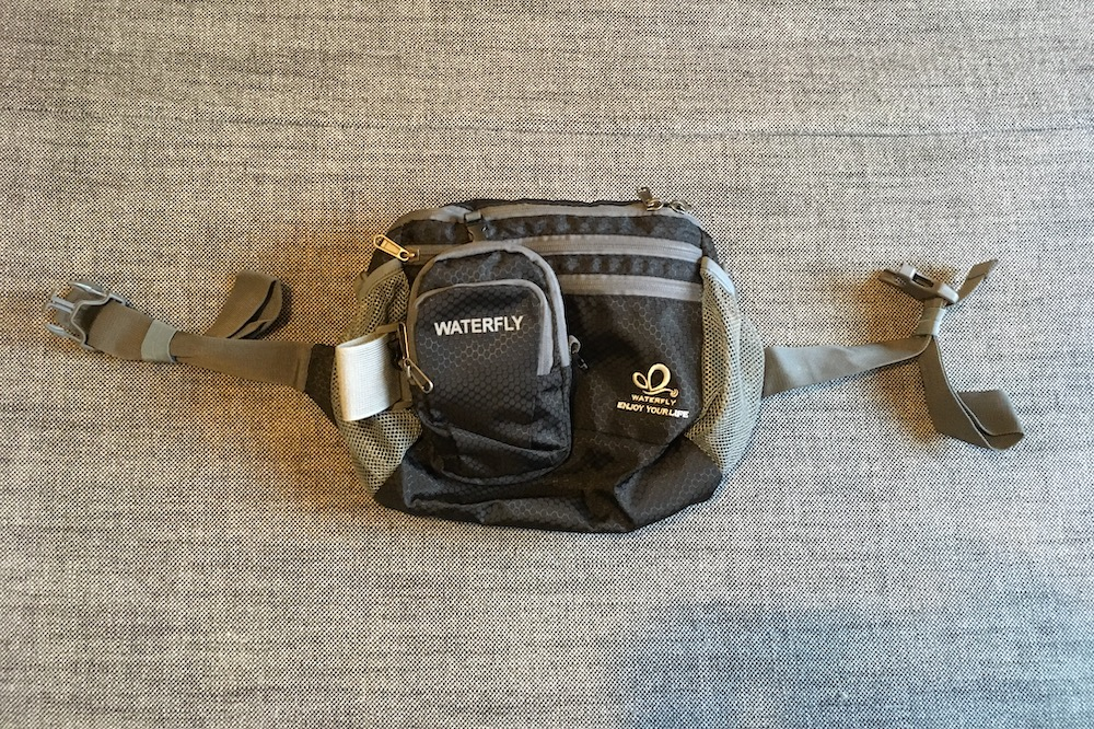 The WaterFly Waist Bag with the Arm Bag