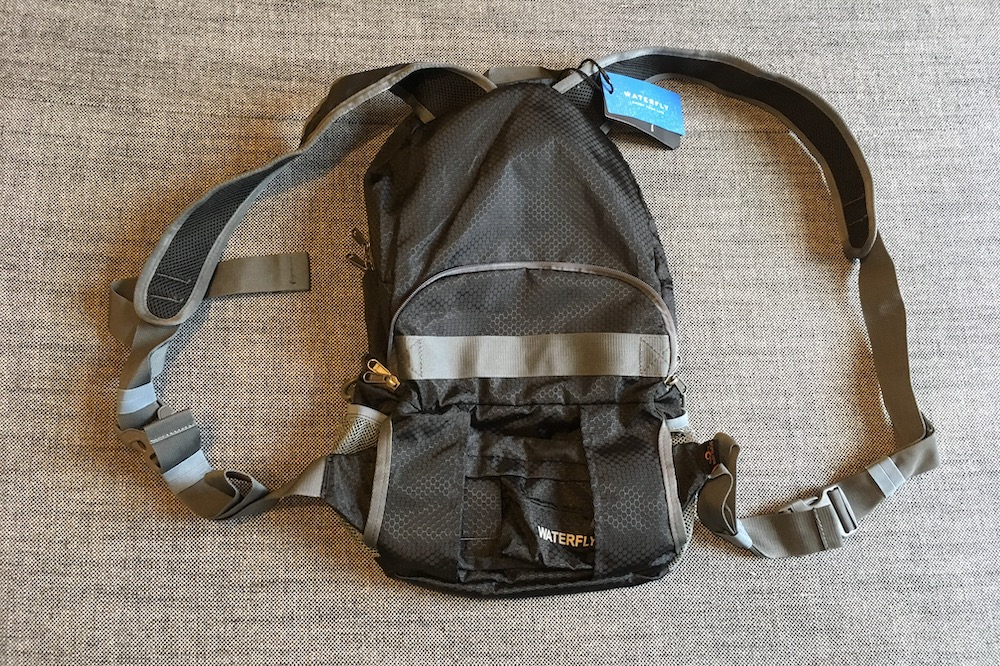 WaterFly Backpack and Fanny Pack