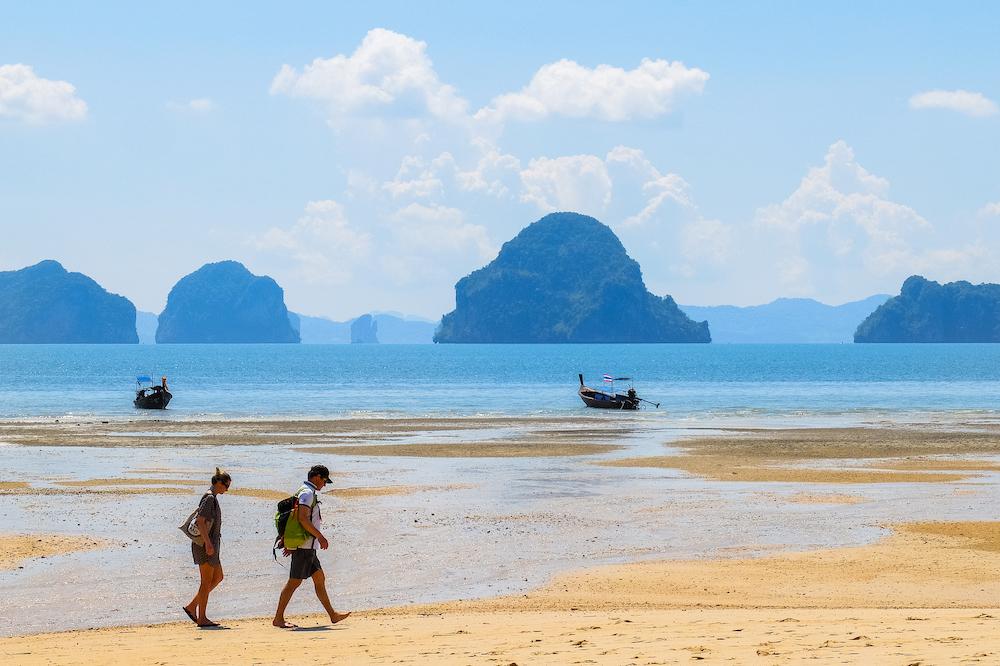 A beach near Krabi, Thailand