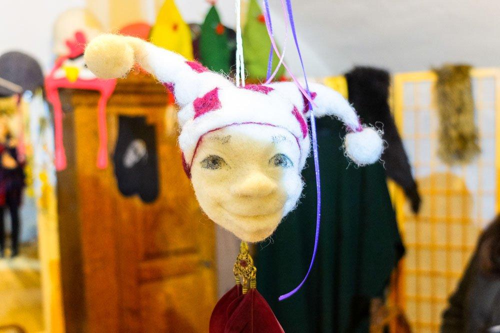 A handmade doll in Pakruojis Manor