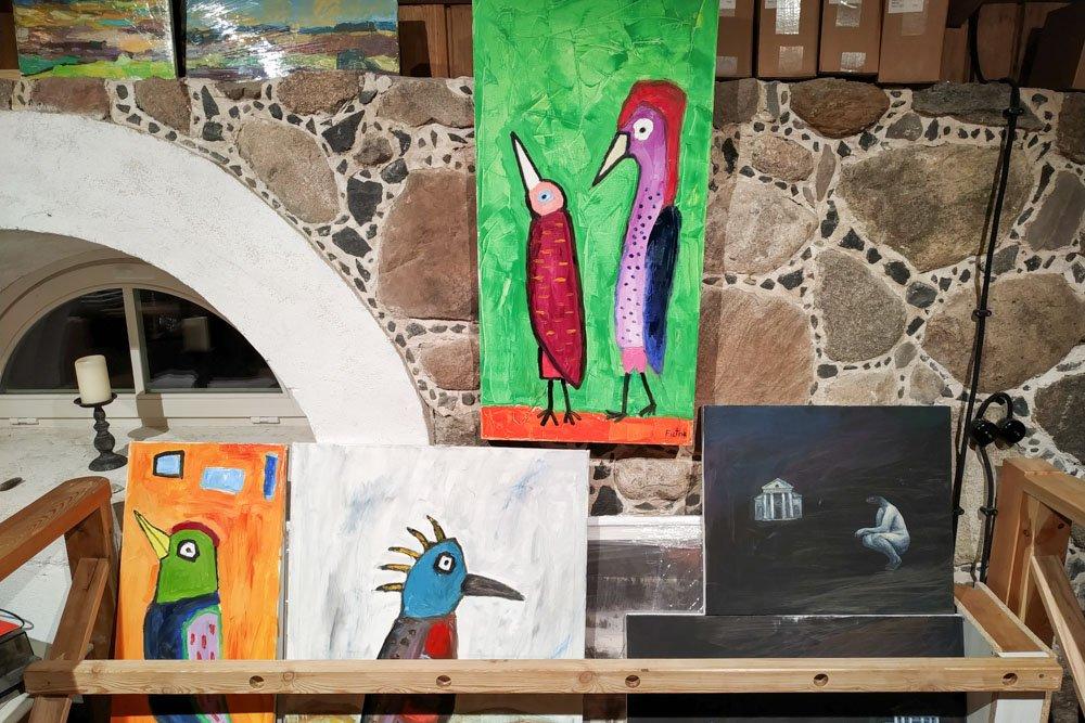 Art in Paliesius Manor